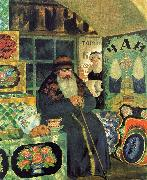 Boris Kustodiev Merchant Chest Maker oil